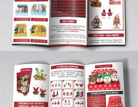 #6 for Create a Christmas Themed Tri-Fold Brochure / Product Catalogue by cfbutterfly