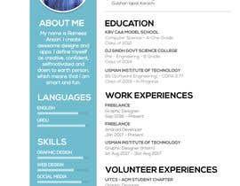 #9 for Curriculum vitae design by mrayyan996