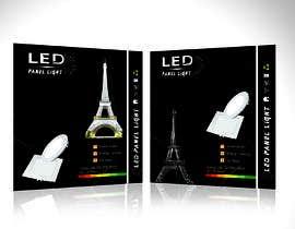 #9 cho Design box lamp with black background bởi shinydesign6