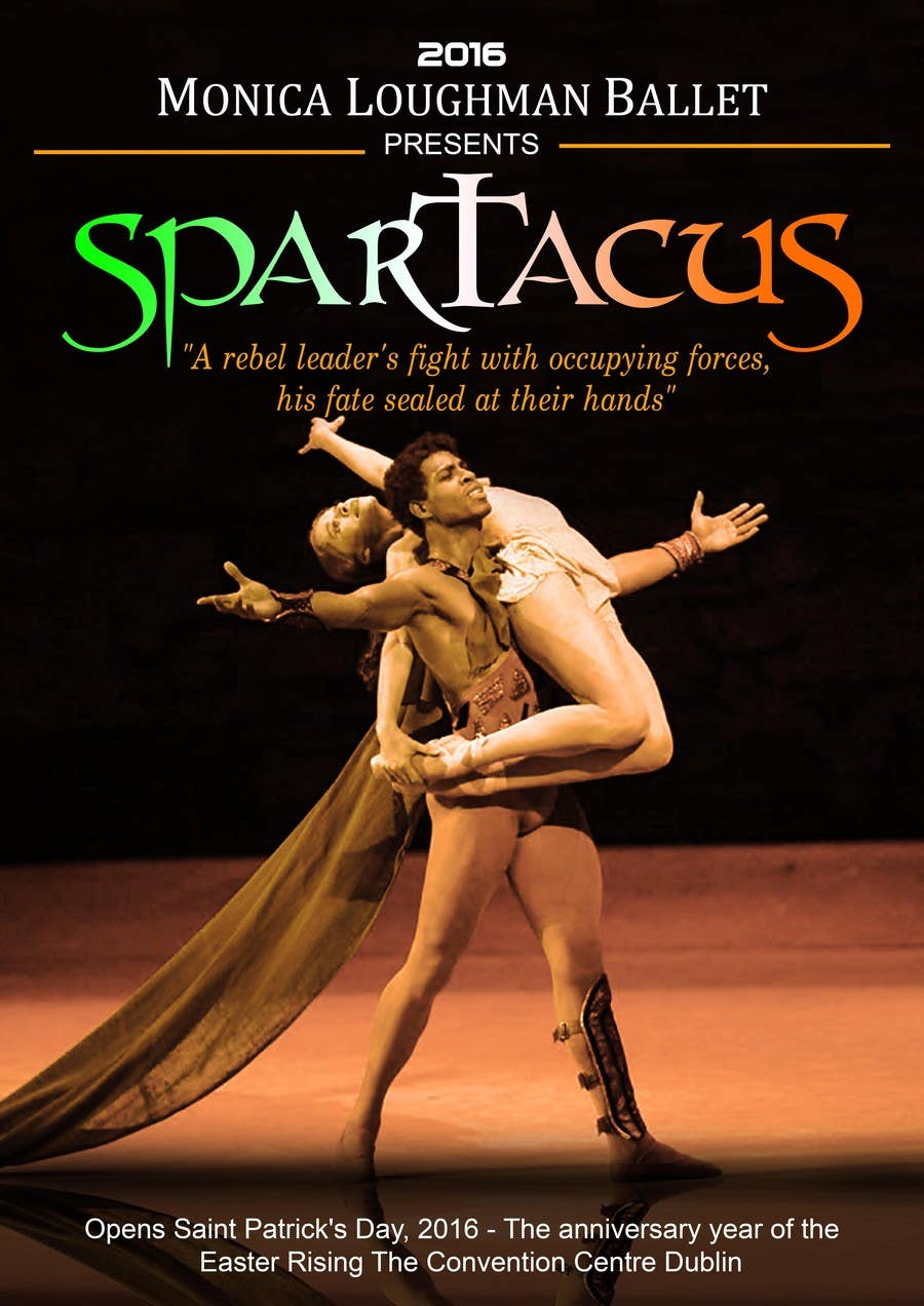 Contest Entry #46 for Graphic Design for ballet company for a ballet called Spartacus
