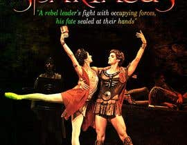 #58 para Graphic Design for ballet company for a ballet called Spartacus por nayrix101