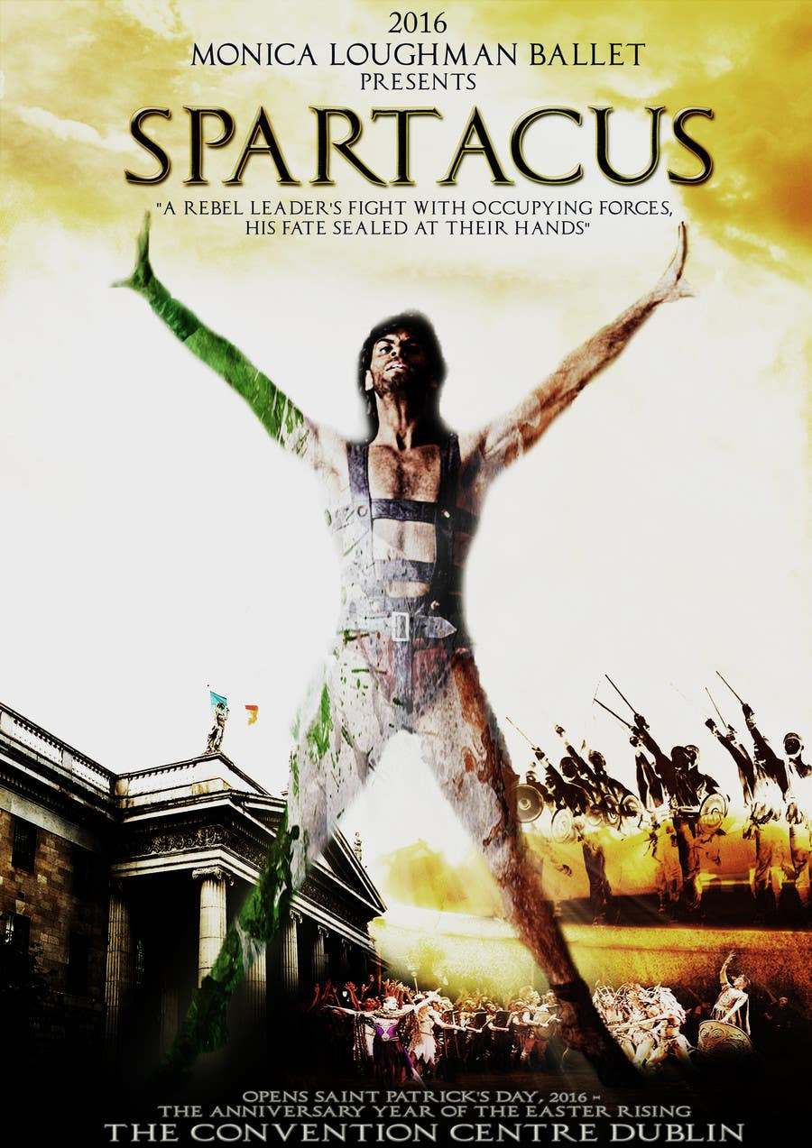 Contest Entry #57 for Graphic Design for ballet company for a ballet called Spartacus