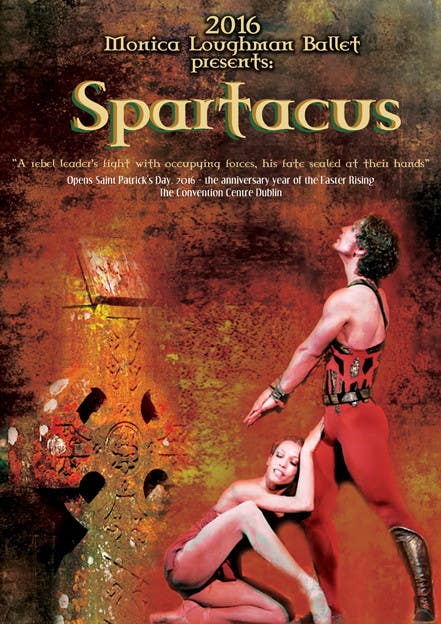 Contest Entry #18 for Graphic Design for ballet company for a ballet called Spartacus