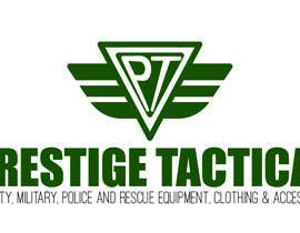 #12 for The company is Prestige Tactical and i need company name text and a logo designing. The website will be selling security, military, police and rescue equipment, clothing and accessories. by giuliachicco92