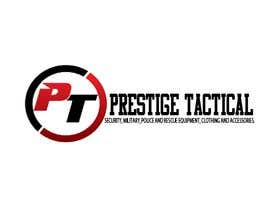 #8 for The company is Prestige Tactical and i need company name text and a logo designing. The website will be selling security, military, police and rescue equipment, clothing and accessories. by cristianposada
