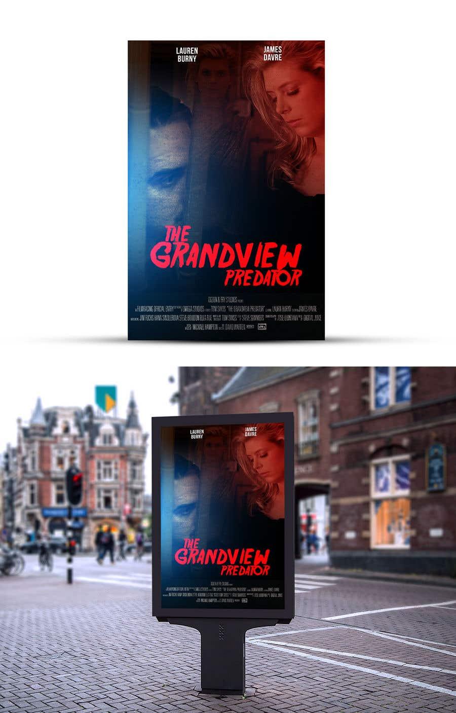 """Contest Entry #2 for Create a Movie Poster - """"Grandview Predator"""""""