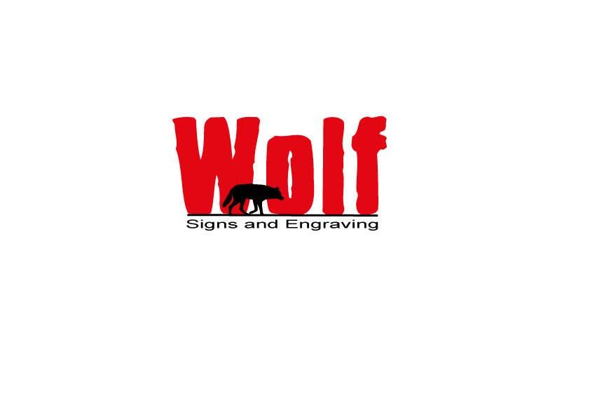 Bài tham dự cuộc thi #                                        146                                      cho                                         Logo Design for Wolf Signs