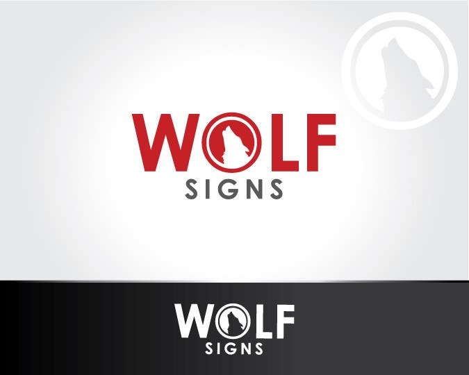 Konkurrenceindlæg #219 for Logo Design for Wolf Signs