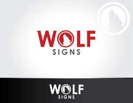 #219 para Logo Design for Wolf Signs por NexusDezign