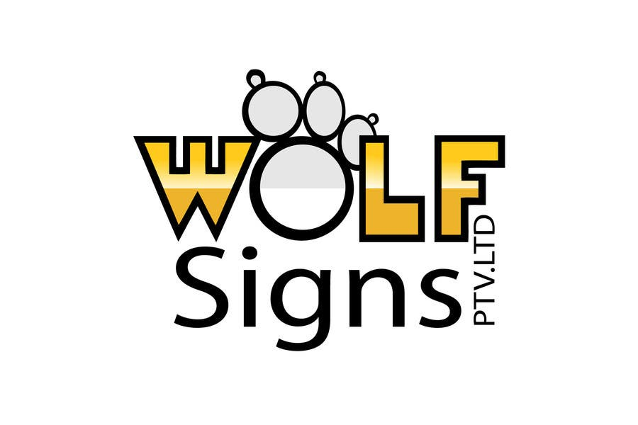 Конкурсная заявка №23 для Logo Design for Wolf Signs