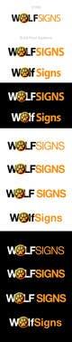Konkurrenceindlæg #235 billede for Logo Design for Wolf Signs