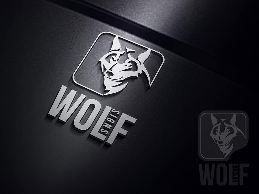 #275 for Logo Design for Wolf Signs by indracorp