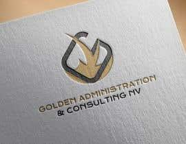 "#96 untuk Design a Logo for ""Golden Administration & Consulting N.V."" oleh vadimcarazan"