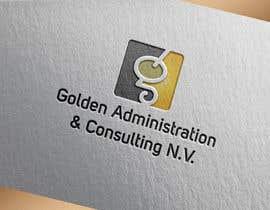 "#95 untuk Design a Logo for ""Golden Administration & Consulting N.V."" oleh Rezwan1"