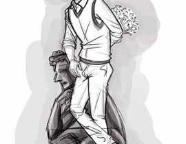 #85 per Cartoon-style illustrations da ganblack83
