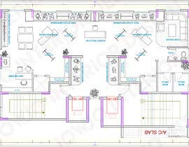 #2 for To design 2d interior space & furniture layout by Autocad for ladies fashion atelier by jowjodesign