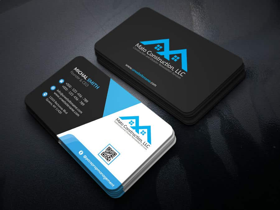 Entry 21 by iqbalsujan500 for business card design freelancer business card reheart Images