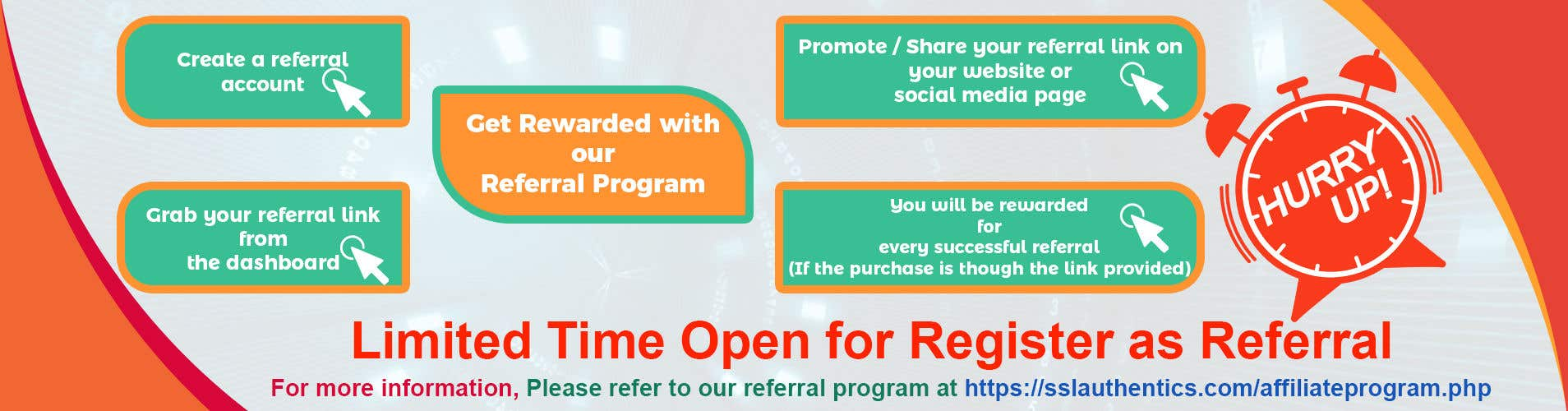 Entry #7 by udshafiq for Design a referral program banner
