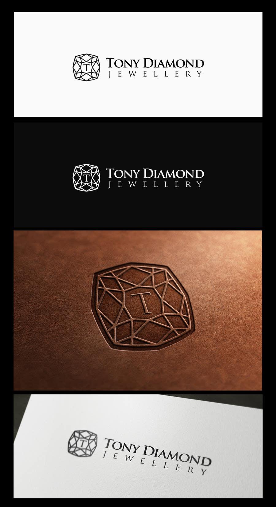 Kilpailutyö #56 kilpailussa Logo Design for Tony Diamond Jewellery