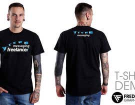 #43 for Design a T-Shirt for the Freelancer.com messaging team by FredrikWei