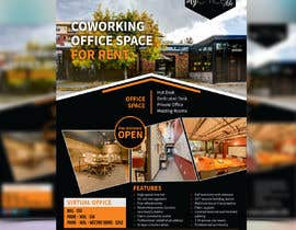 nº 6 pour FLYER for Coworking Office Space for Rent par meenapatwal