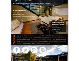 nº 16 pour FLYER for Coworking Office Space for Rent par Zdenno