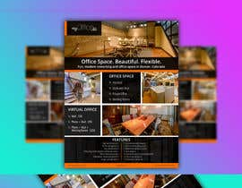 nº 44 pour FLYER for Coworking Office Space for Rent par opang94
