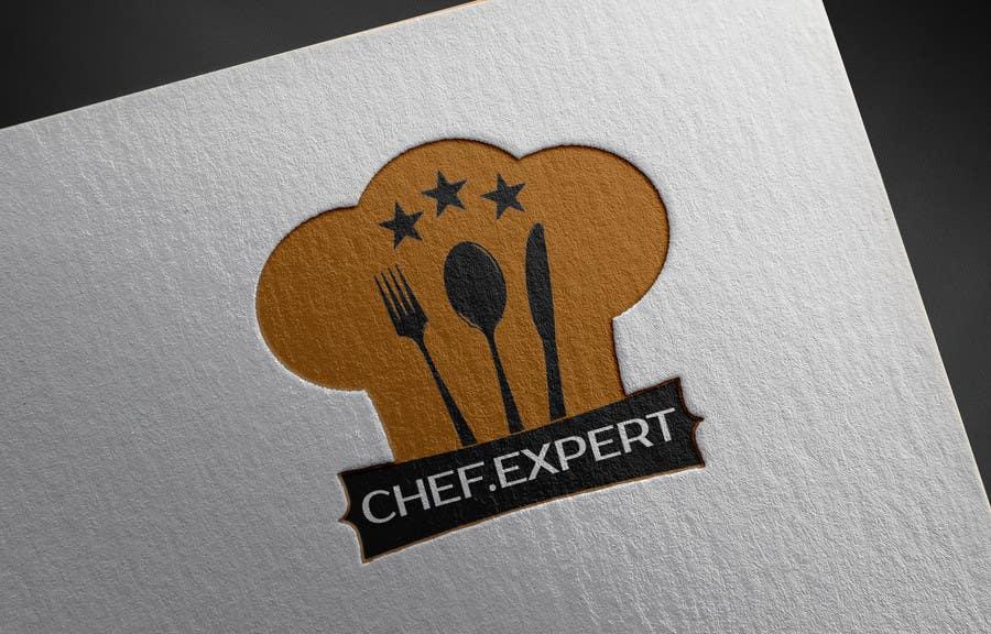 Inscrição nº                                         33                                      do Concurso para                                         Logo for site chef.expert