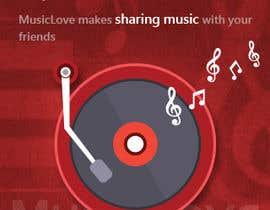 #5 for Design interstitial Banner for MusicLove af roxunlimited