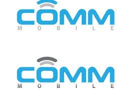 #266 para Logo Design for COMM MOBILE por mnjprsnn