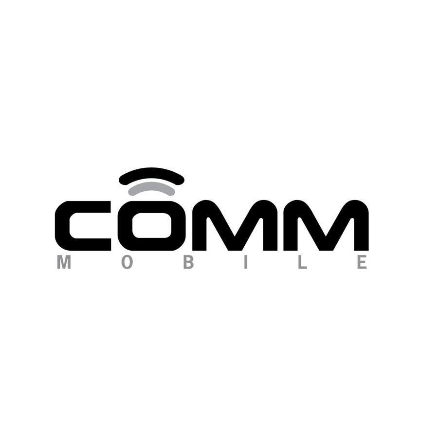 #196 for Logo Design for COMM MOBILE by mnjprsnn