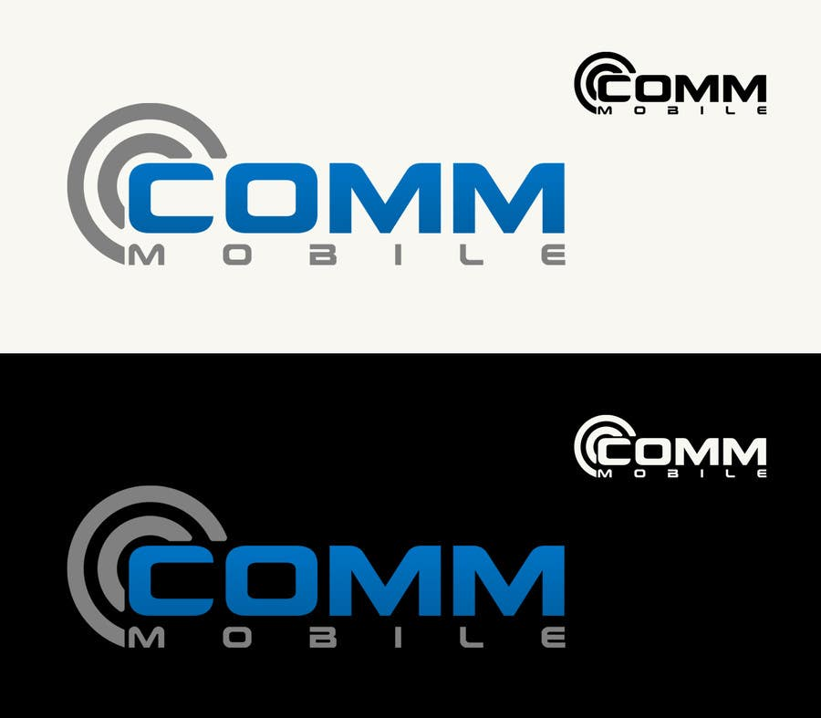 #161 for Logo Design for COMM MOBILE by CGSaba