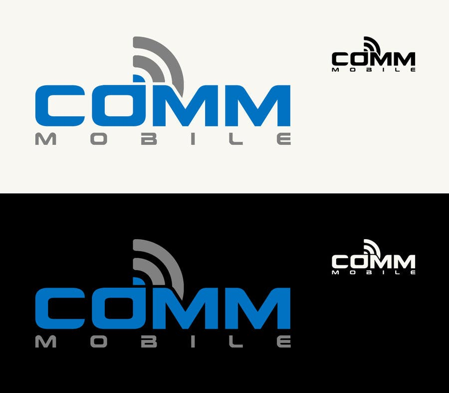 #42 for Logo Design for COMM MOBILE by CGSaba