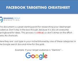#2 para Document design: FACEBOOK TARGETING CHEATSHEET por mDesHeads