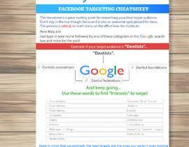 #9 para Document design: FACEBOOK TARGETING CHEATSHEET por kolbalish