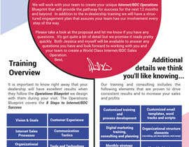 #36 for Design a Flyer for our Training and Consulting Services by babakneza