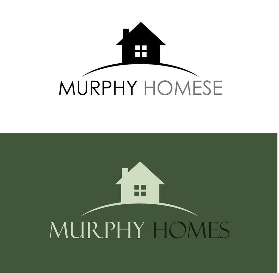 Конкурсная заявка №1499 для Logo for Murphy Homes
