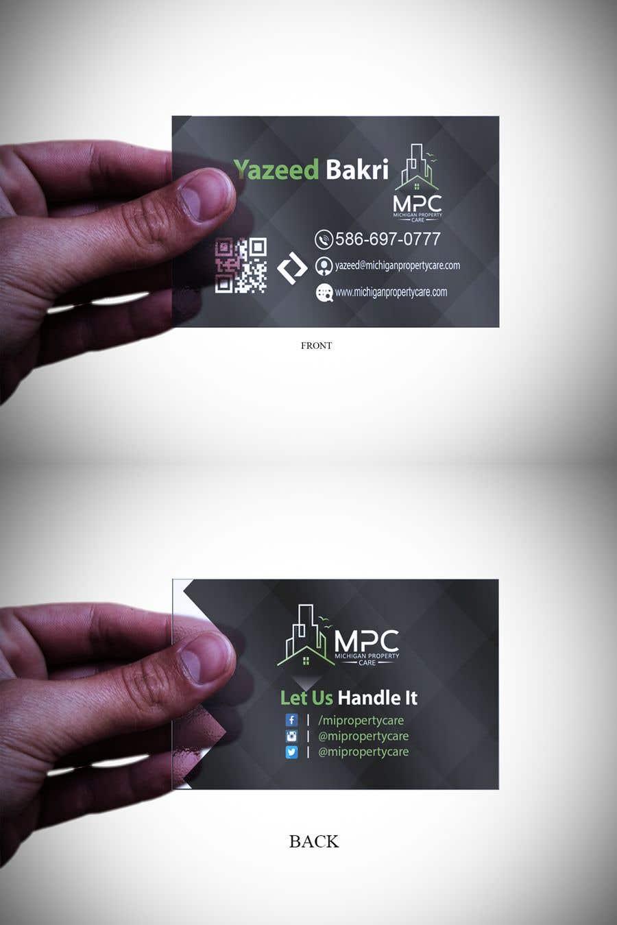 Entry #137 by tariqmustafiz for Business Card Design | Freelancer