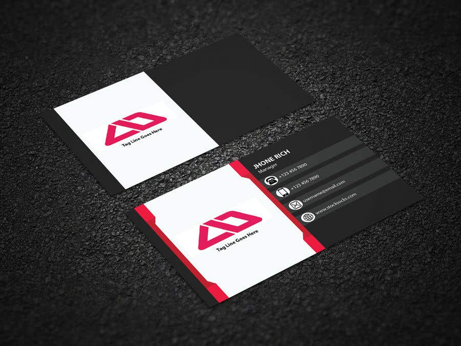 Entry #7 by bhossain3 for Design an innovative die cut Business card ...