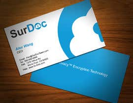 #122 para Business Card Design for SurDoc por XLNCInc