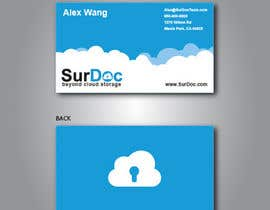 #135 para Business Card Design for SurDoc por valig100