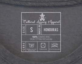 #14 untuk T-shirt Inside Label oleh prngfx