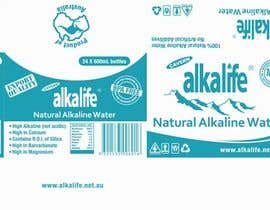 #29 para Package Design for alkalife Natural Alkaline Water de moncapili