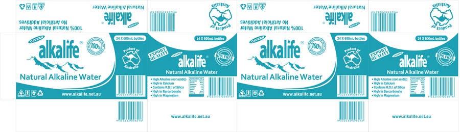 Конкурсная заявка №20 для Package Design for alkalife Natural Alkaline Water