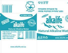 #20 para Package Design for alkalife Natural Alkaline Water por moncapili