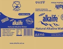 #28 para Package Design for alkalife Natural Alkaline Water por moncapili