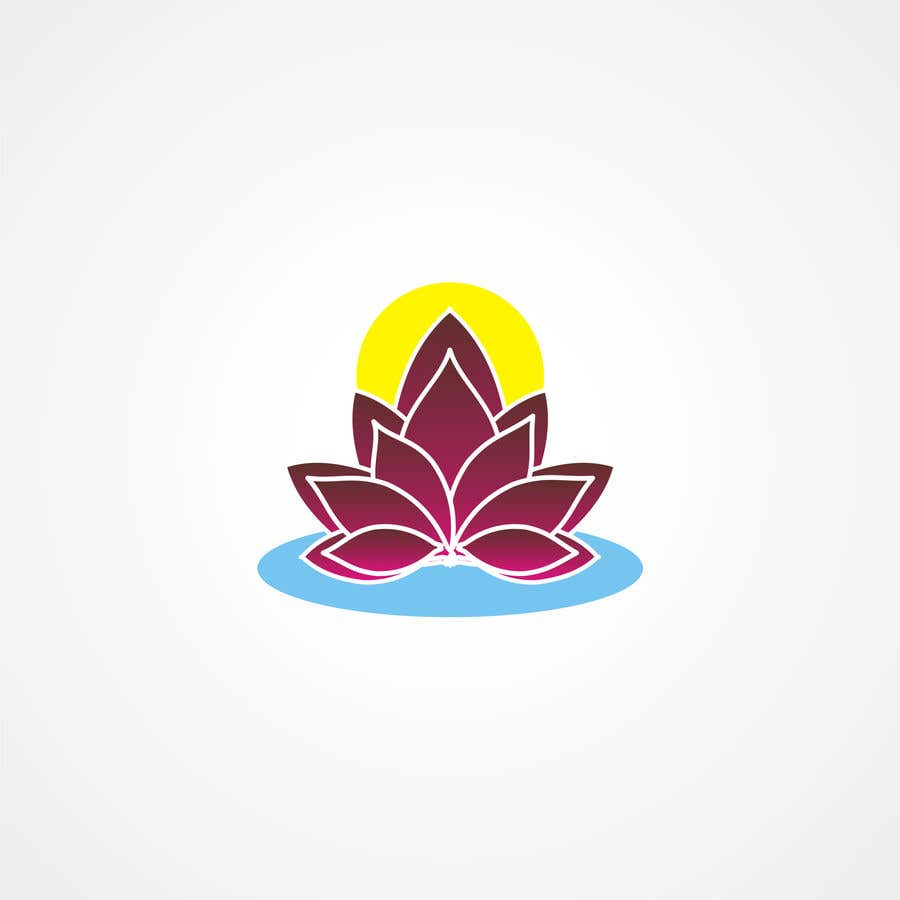 Entry 2 By Vs47 For I Need A Logo Of A Lotus Flower Created I Want