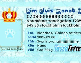 nº 53 pour Design a Pet ID-Card (for dogs and cats) Theme Prince and Princess par nglswt