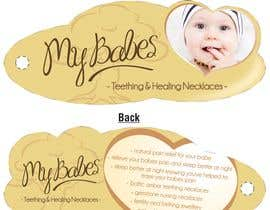 #53 dla Print & Packaging Design for My Babes Teething & Healing Necklaces przez quinncy69