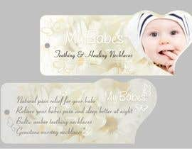 #44 dla Print & Packaging Design for My Babes Teething & Healing Necklaces przez Desry